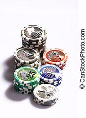 娱乐场, 赌博芯片