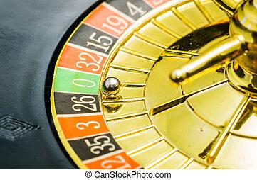 娱乐场, 轮盘赌