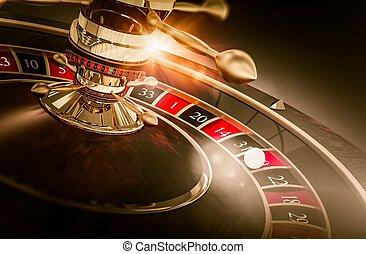 娱乐场, 轮盘赌, 游戏