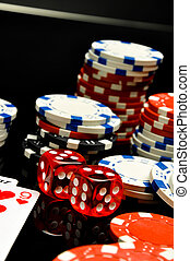 娱乐场, 轮盘赌, 赌博, 游戏