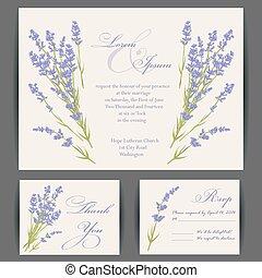 婚礼, 卡片, 邀请