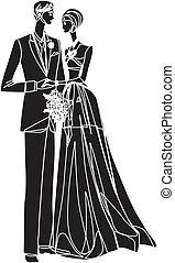 婚礼, 夫妇