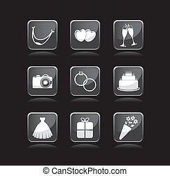 婚禮, 圖象