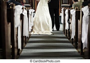 婚禮, 教堂