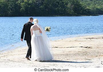 婚禮, 步行