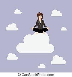 婦女考慮, 雲, 事務