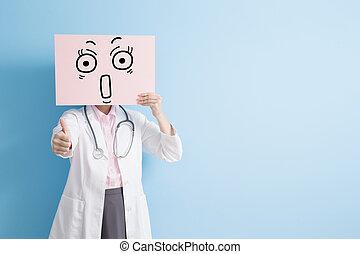 婦女醫生, 拿, 驚奇, 廣告欄