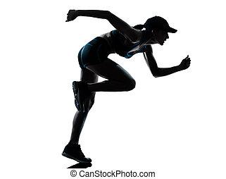 婦女, 賽跑的人, 慢跑者