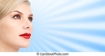 婦女 面孔