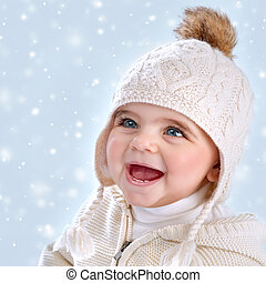 婴儿, 冬季, 方式