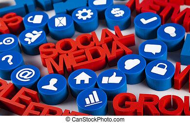 媒体, 社会, 概念