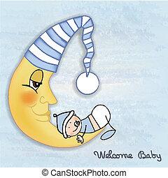 嬰兒送禮會, 卡片