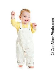嬰孩舉步, 首先, 時間, 演播室 射擊