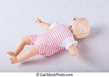嬰孩, 幽靈, 塑料