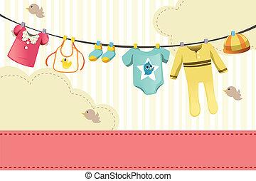 嬰孩, clothings