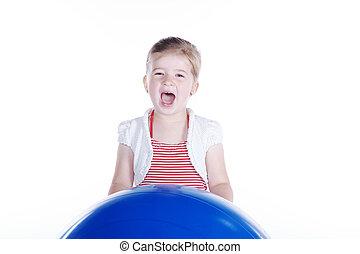子が遊ぶ, ∥で∥, 体操の球技