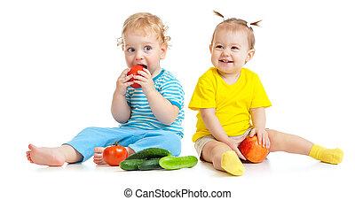 子供たちが食べる, 果物と野菜, 隔離された