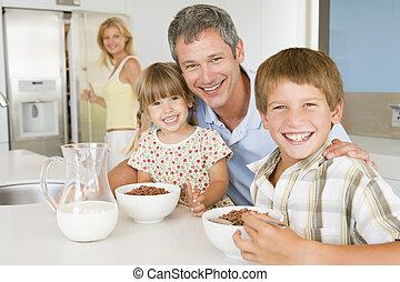 子供たちの父親となりなさい, bac, 彼ら, 母, 朝食, 食べなさい