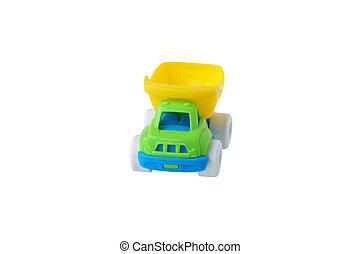 子供, おもちゃ, truck.