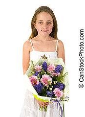 子供, ∥で∥, 花の 花束
