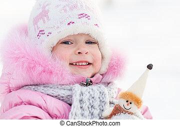 子供, ∥で∥, 雪だるま