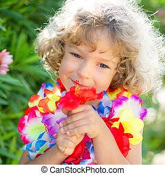 子供, ∥で∥, tropic, 花