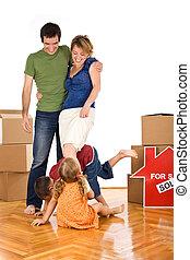 子供, 家族, ∥(彼・それ)ら∥, 新しい 家, 幸せ