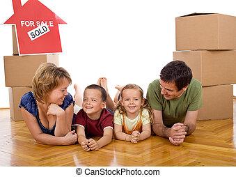 子供, 家族, 2, ∥(彼・それ)ら∥, 新しい 家, 幸せ