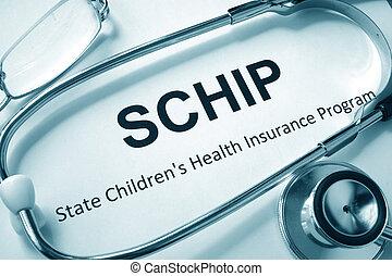 子供, 州, 健康保険