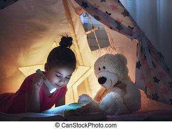 子供, 本を読む