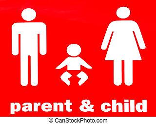 子供, 親, 印