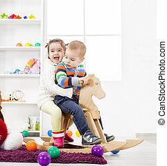 子供 部屋, 遊び