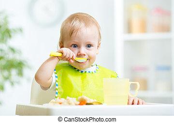 子供, 食べること, 健康に良い食物