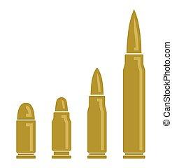 子彈, 矢量, 圖象
