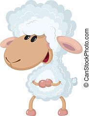 子羊, わずかしか