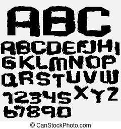 字母表, 墨水