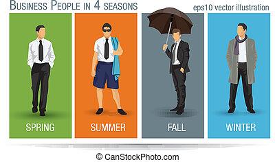 季節, ビジネス