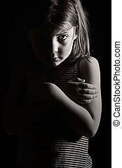 孤独, 悲しい子供