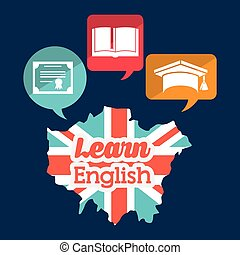 学びなさい, デザイン, 英語