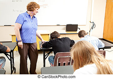 学校の クラス, -, テスト