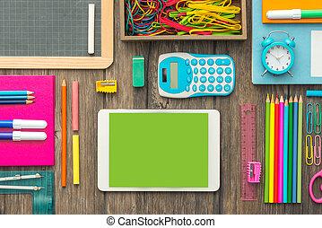 学校, そして, 技術