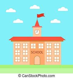 学校, アイコン