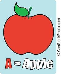 学校, アップル, テンプレート