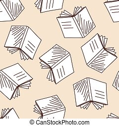 学校, ノート, seamless