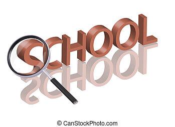 学校, 捜索しなさい