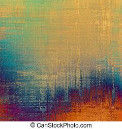 学校, (orange);, 古い, 色, 別, 黄色, (beige);, バックグラウンド。, blue;, 緑, textured, patterns:, 赤