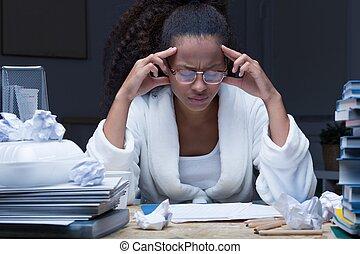 学生, 頭痛