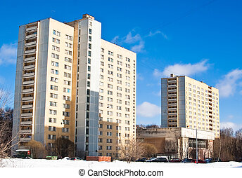 学生, residence., 莫斯科