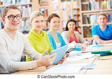 学習者, 図書館