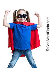 孩子, 女孩, 戲劇, superhero